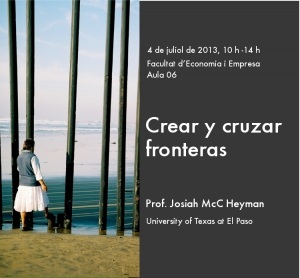 "Seminar ""Creating and crossing frontiers"""